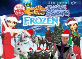 Café da Manhã  + Aventuras Natalinas de Frozen