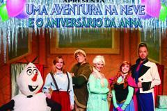 Aventura na Neve e o Anivers�rio da Anna
