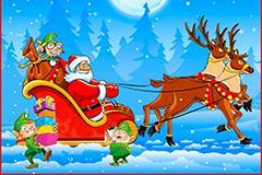 Papai Noel e os Duendes do Natal