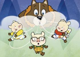 Os Três Porquinhos -  O Retorno do Lobo Mau