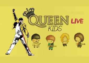 Queen Live Kids - um show de rock para crianças