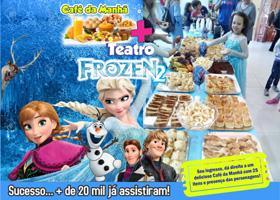 Café da Manhã + Frozen 2