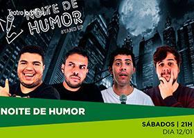 Noite de Humor no Teatro Jardim Sul