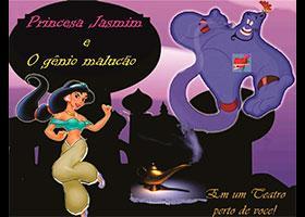 Princesa Jasmine e o Gênio Malucão