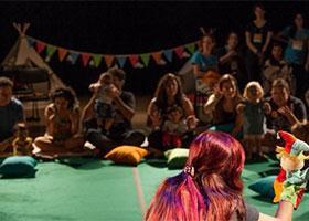 Teatro para bebês - Ilha da Música