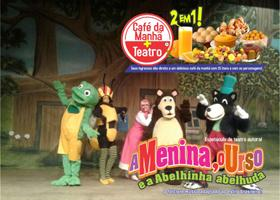 Café da Manhã + Teatro: A Menina, o Urso e a Abelhinha Abelhuda