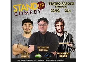 Os Dois e Mais Um - Stand-up Comedy