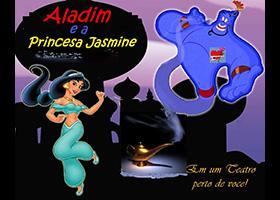 Aladim e a Princesa Jasmine