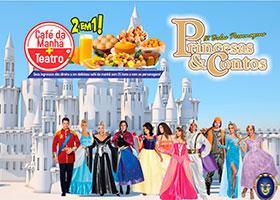 Café da Manhã + Princesas e Contos