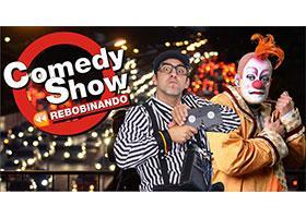 Rebobinando Comedy Show com Márcio Pial e Marcos Casuo