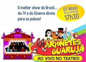 Marionetes Guarujá