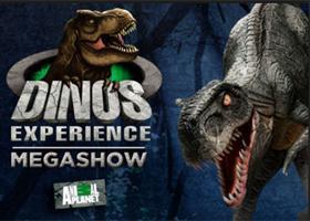 Dinos Experience: Megashow + Exposição Interativa